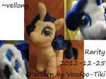Rarity plush toy