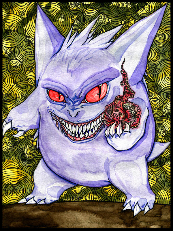 Gengar by LurkingSpork