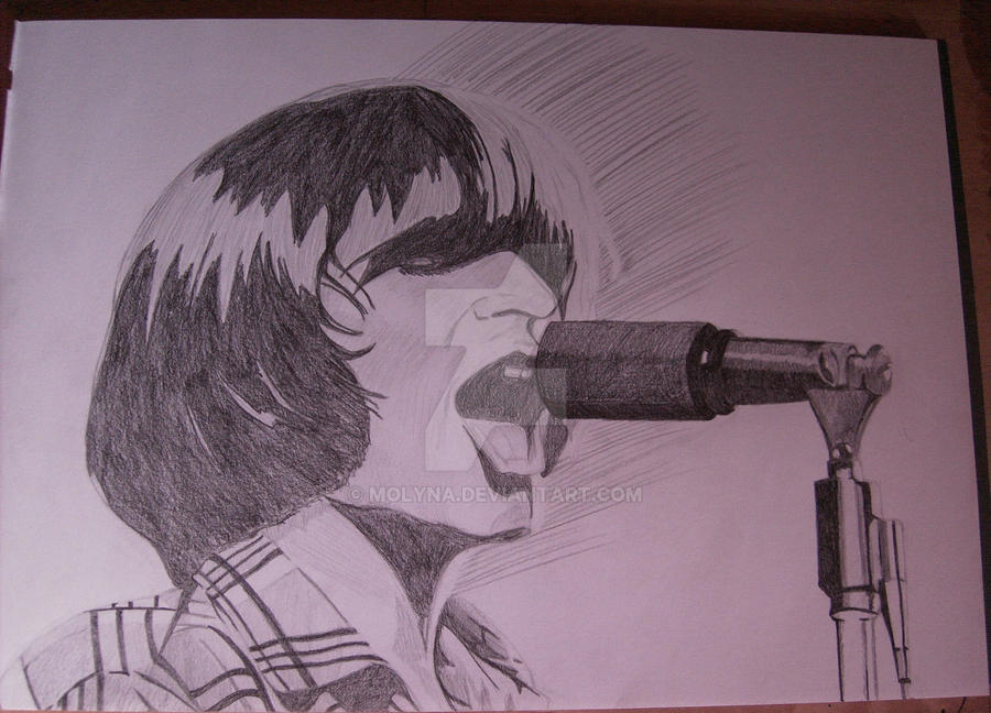 John Fogerty of CCR by Molyna