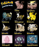 My Fakemon collection
