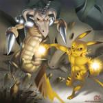 Fakemon Battles: Helicadron VS. Morphachu