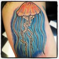 Manowar Jellyfish Tattoo by Marshall-Harris