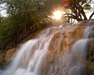 Water flows in Tucson by louieschwartzberg