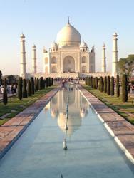 Mirror, Mirror - Taj Mahal by louieschwartzberg