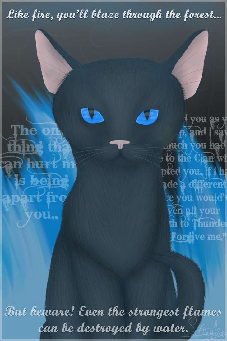 Bluestar's prophecy - school work by Sisa611