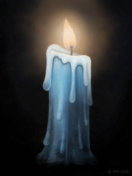 Blue Candle 2020