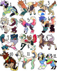 Adopts open 3/12 by SoxzTheWolf