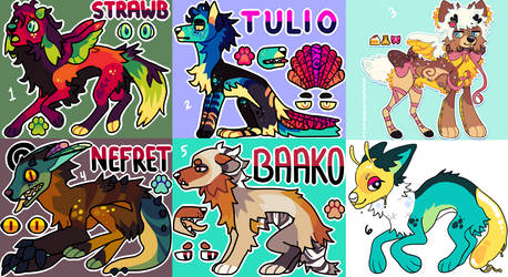 Adopts (open!)