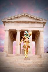 Afrodita de Picsis Saint Seiya Cosplay