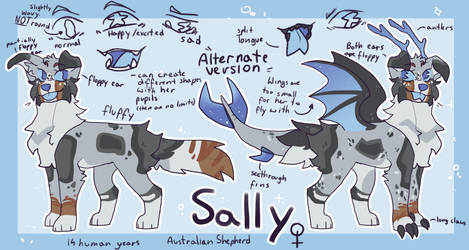 Sally/Mintle | June 2019 Reference sheet