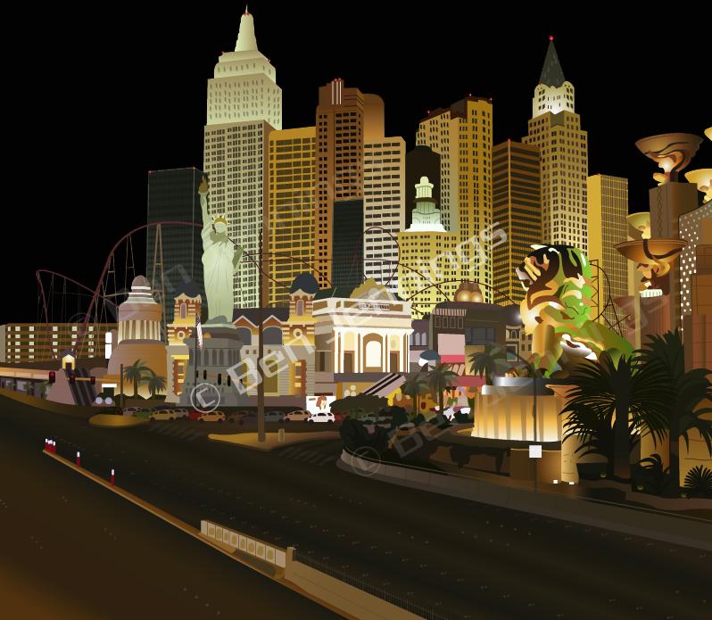 Vegas baby by DarK0rder