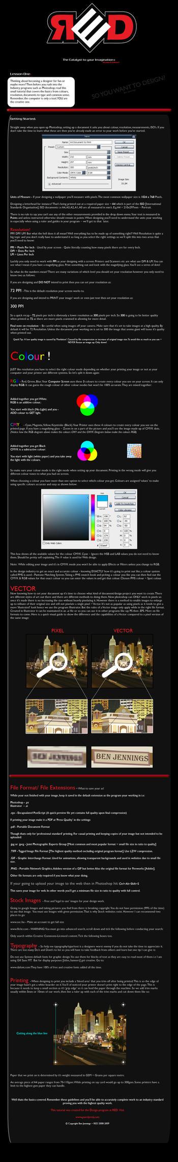 Learn Graphic Design - Basics by DarK0rder