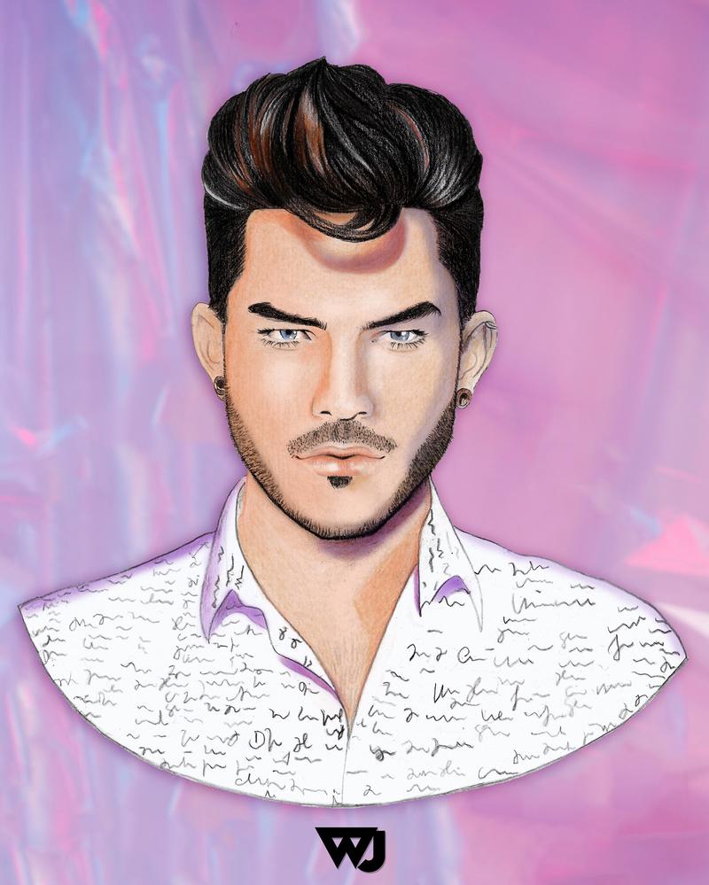 Adam Lambert by watsonjunior