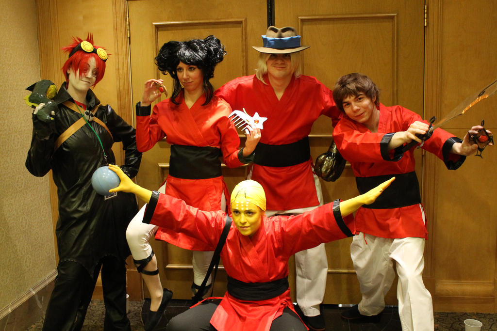 Xiaolin Showdown Group by CameraTruth on DeviantArt