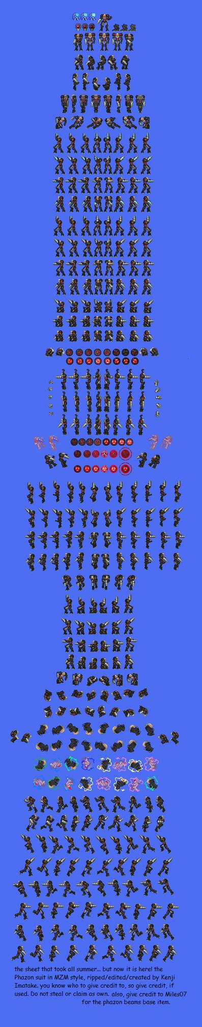 zero mission phazon suit by kenji-imatake