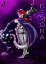 Demona by Toonink