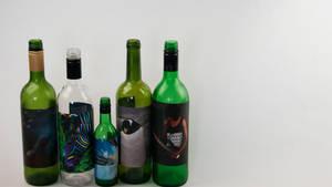 Photos on bottles