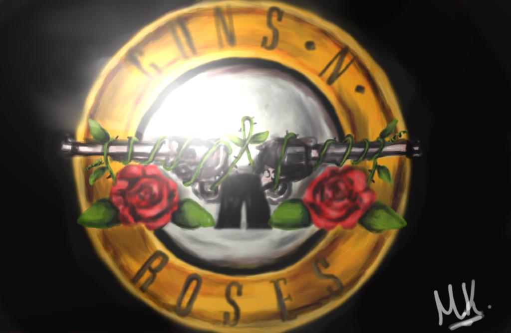 Guns n Roses Logo by MarilyneMars