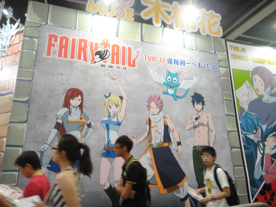 Fairy Tail At HK Anime Con By Ninjaotakustalker