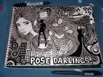 Pose Darlings! by MissSweeda