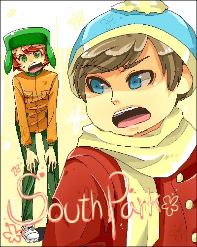 South Park Anime Kenny X Kyle (click to show/hide)
