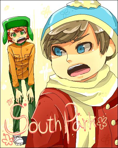 South Park Anime Kenny X Kyle South park: cartman x kyle by