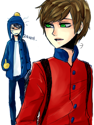 Clyde Donovan ID South_Park___Clyde_x_Craig_by_sujk0823