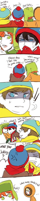 South Park Anime Kenny X Kyle South park : kenny x stan 3 by sujk0823