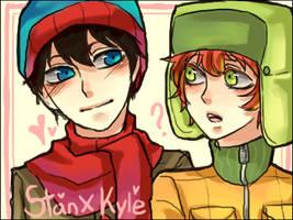 South Park : Stan X Kyle 3 by sujk0823