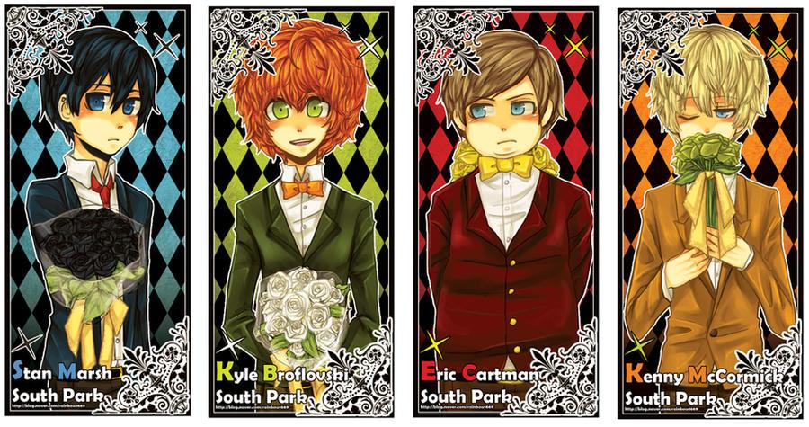 South Park Anime Kenny X Kyle South park 7 by sujk0823