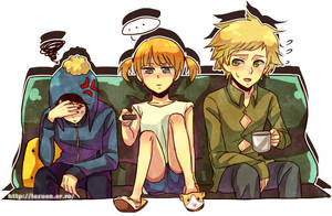 South Park : sister by sujk0823