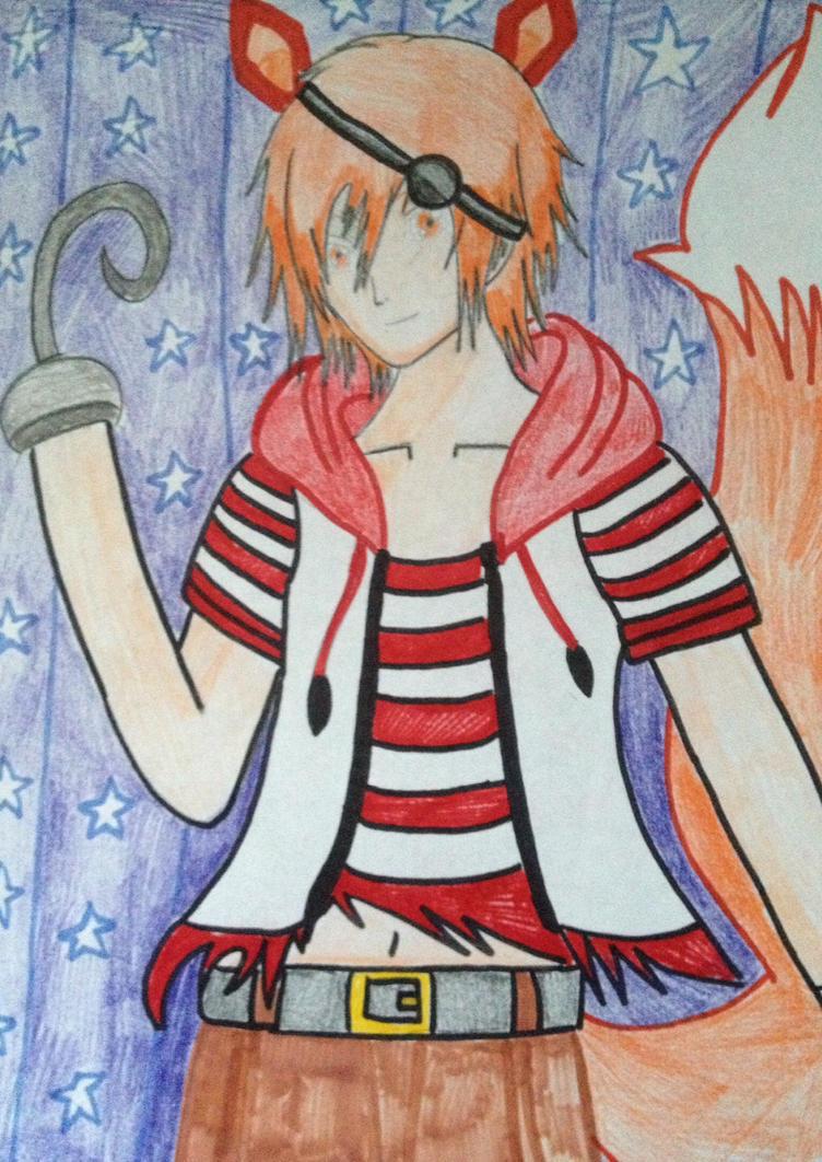 Foxy the Pirate by ayumuobessed