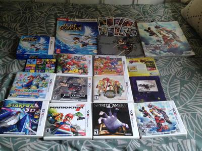 3ds game collection plus bonus stuff I have by ayumuobessed