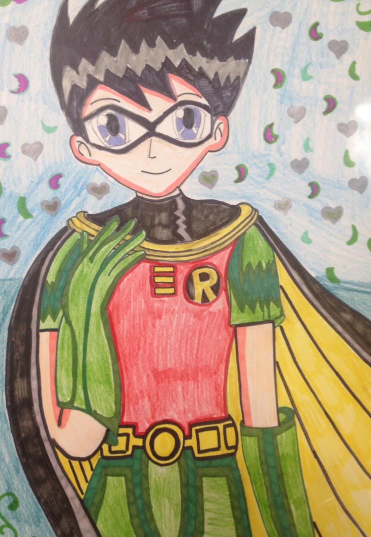 Robin the boy wonder by ayumuobessed