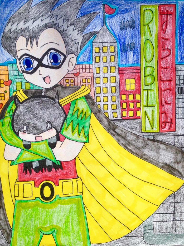 Teen Titan Robin. by ayumuobessed