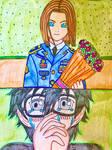 Persona 5 strikers tearful Renioun by ayumuobessed