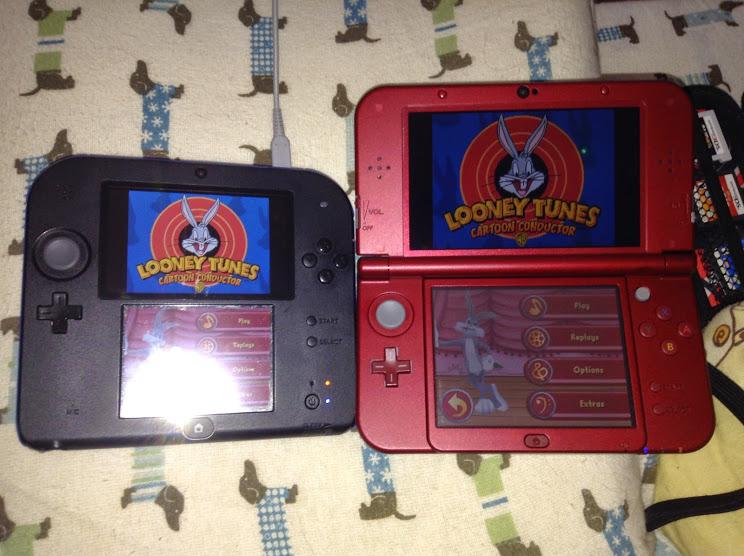 Looney Tunes 2DS NEW 3DS XL by PhawrilaTron on DeviantArt