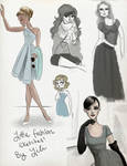 Little Fashion Sketches