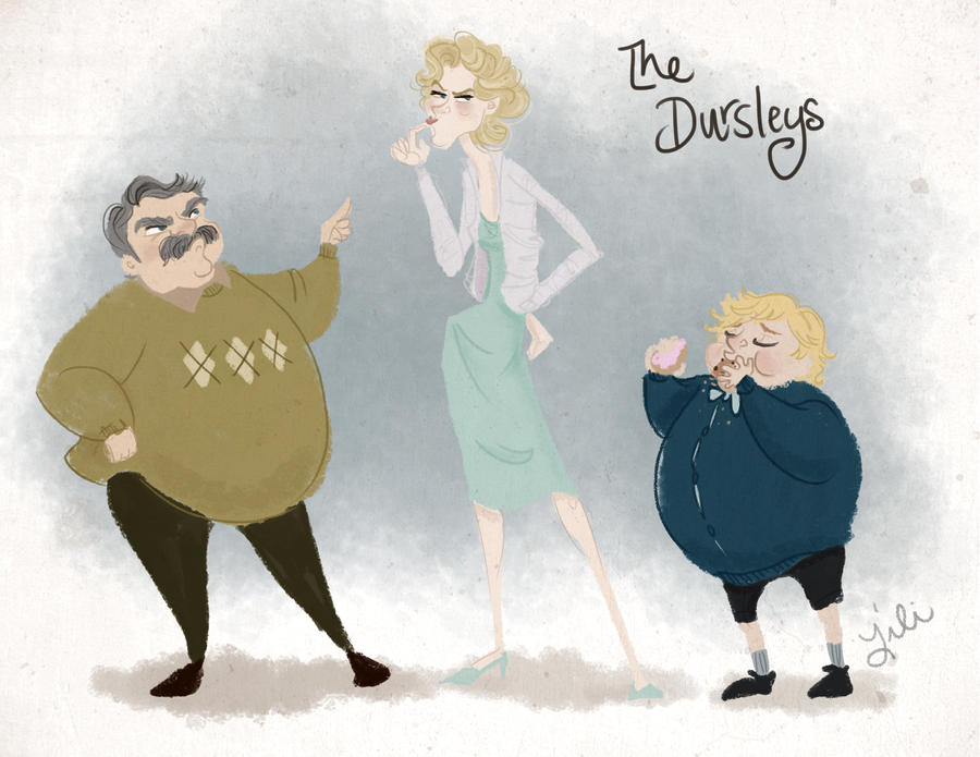 The Infamous Dursleys by liliribs