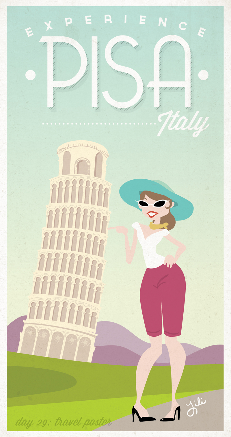 Day 29: A Travel Poster