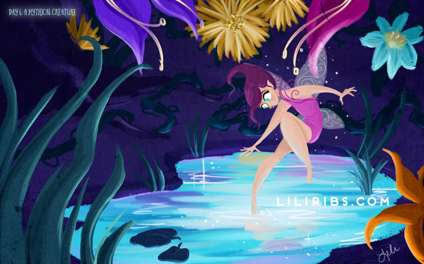 30DDC Day 6: Mythical Creature by liliribs