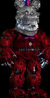 Red Fredbear for alvaxerox