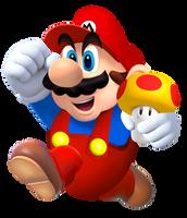 Classic Mario by Pipsqueak737
