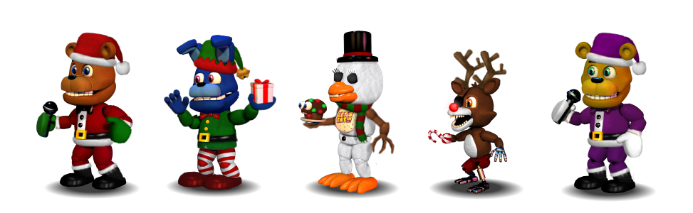 adventure christmas animatronics by pipsqueak737 - Christmas Animatronics