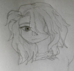 Eartha face  hair