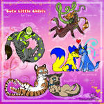 Cute Little Chibis: Set Two