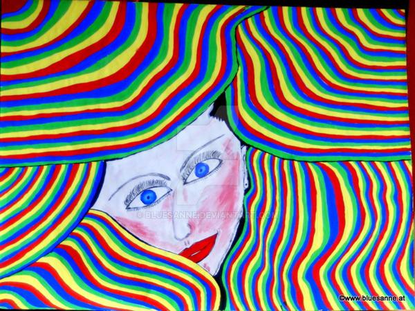 Dahinter by Bluesanne