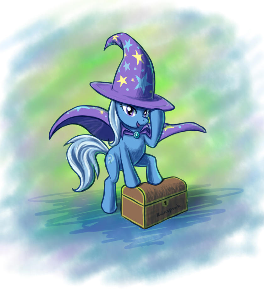 Trixie - Life is a Magic Show by Rainspeak