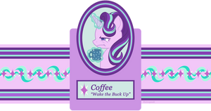 Coffee Tin Label: Starlight Glimmer by Rainspeak