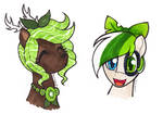 Green Headshots